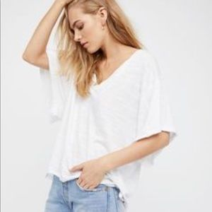 "Free people ""My Boyfriends T"""